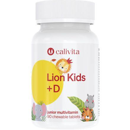 Lion Kids+D multivitamin gyerekeknek