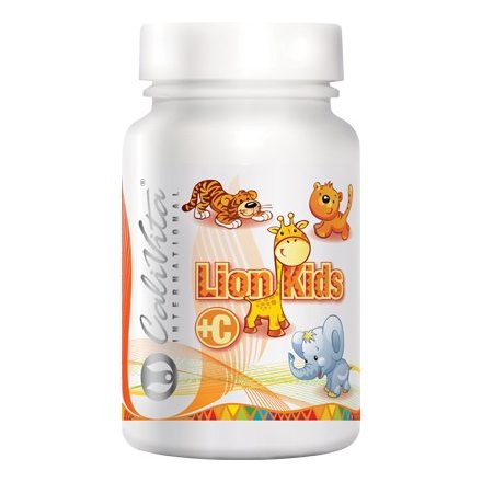 Lion Kids+C C-vitamin gyerekeknek