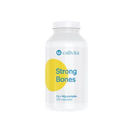 Strong Bones 250 a csontok védelmére kalcium és magnézium tartalmú készítmény